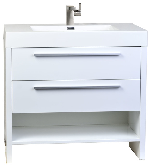 Conceptbaths Mula 35 5 Quot Modern Bathroom Vanity High