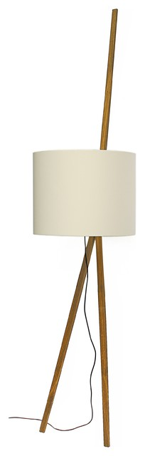 Luca lean floor lamp scandinavian floor lamps by maigrau for Oak floor lamp stand