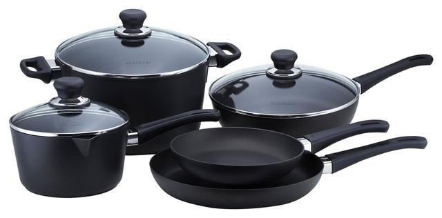 Scanpan Classic 8-Piece Nonstick Cookware Set.