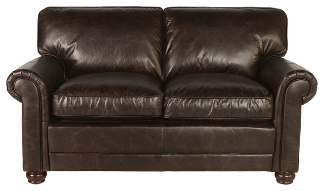 Pleasant Lazzaro Leather Genesis Loveseat Dark Brown Gamerscity Chair Design For Home Gamerscityorg