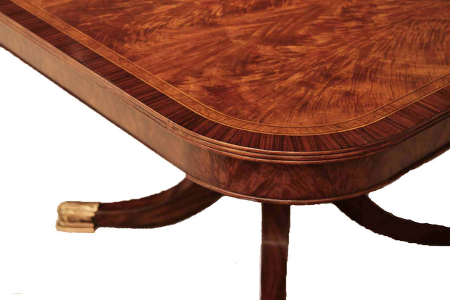 12 Foot Flame Mahogany Dining Table for Seating 8 14 People traditional  dining. 12 Foot Flame Mahogany Dining Table for Seating 8 14 People