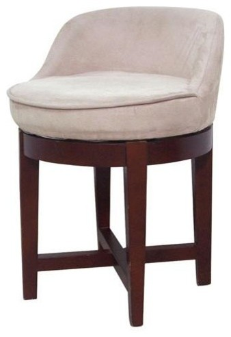 Elegant Home Fashions Cuddy Vanity Stool Amp Reviews Houzz