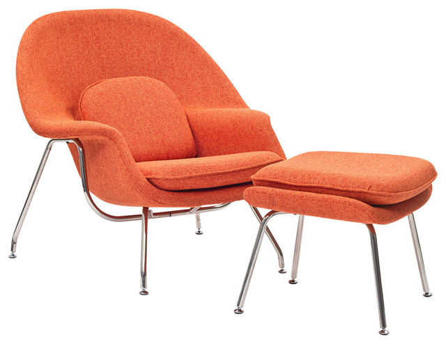 W Lounge Chair Midcentury Armchairs And Accent Chairs