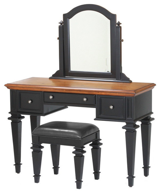 americana vanity and bench traditional bedroom makeup vanities
