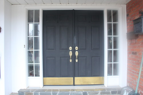 Spruce up my front doors. & Spruce up my front doors...?
