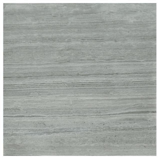 Sublime Floor Tiles, Gloss Grey, Set of 20 m²