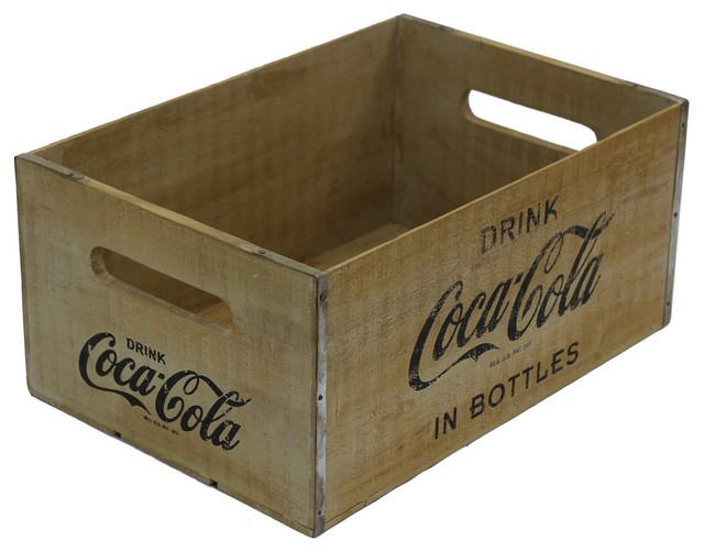 Rustic Large Coca-Cola Crate