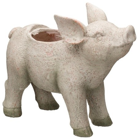 Regal Pig Planter - Farmhouse - Outdoor Pots And Planters - by ... on pig watering can, pig planet, pig farmer, pig pillow, pig white, pig soldier, pig trailer, pig vintage, pig gates, pig teapot, pig pink, pig leather, pig clock, pig plate, pig green, pig tree, pig bed, pig pitcher, pig pot, pig pipe,