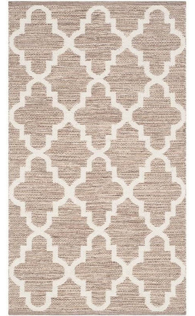 Safavieh Montauk Beige Contemporary Rug, 8&x27;x10&x27;.