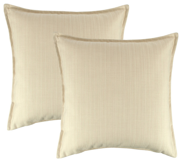 All Modern Outdoor Pillows : Austin Horn Classics Sunbrella Dupione Pearl 20