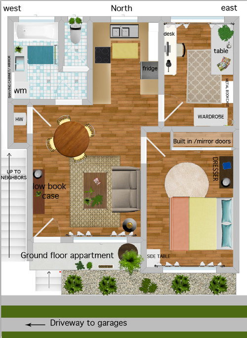 Feng shui what is wrong with my apartment layout - Feng shui apartment layout ...