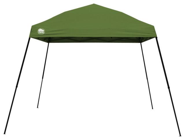 Quikshade 157386 Shade Tech Ii Instant Canopy, St64, 10&x27;x10&x27;, Green.