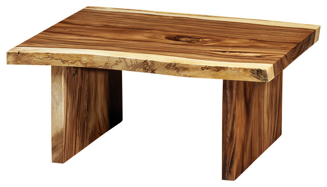 Freeform Wood Coffee Table rustic coffee tables. Freeform Suar Wood Coffee Table With Wooden Legs   Rustic   Coffee