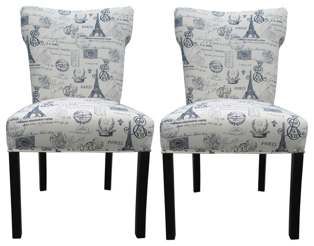 Sole Designs Bella Collection Dining Chairs Set Of 2