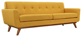 Engage Upholstered Sofa, Citrus