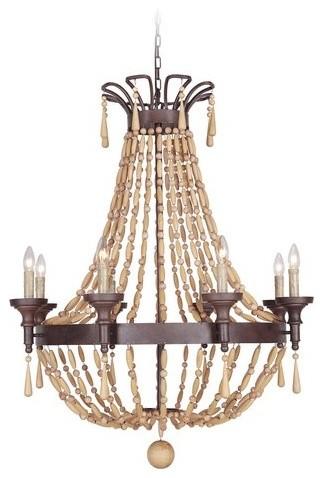 jeremiah lighting berkshire 8light chandelier aged bronze textured