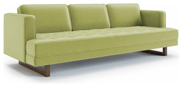 Harper Sofa, Lime Green.