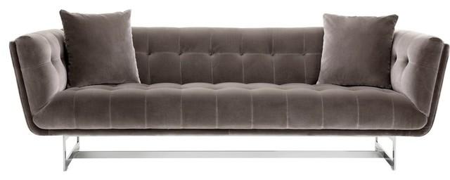 Sunpan 101510 Centennial Sofa, Giotto Gray Fabric