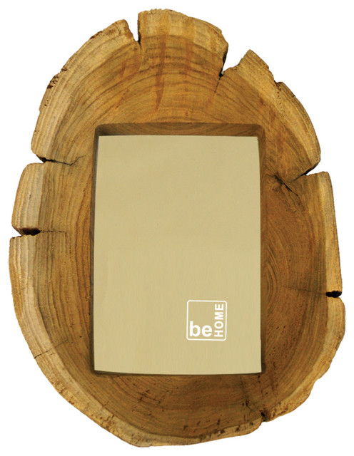 Log Frame, 5 X 7 - Eclectic - Picture Frames - by Be Home