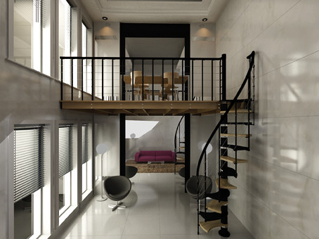 Exceptional Space Saving Stairs