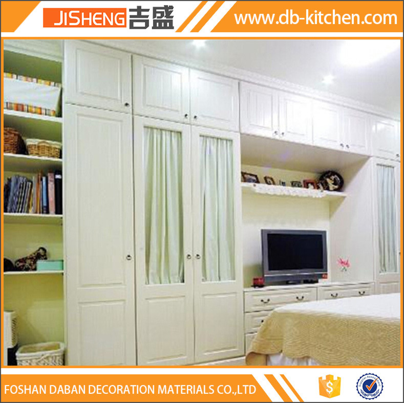 Wardrobe with tv cabinet