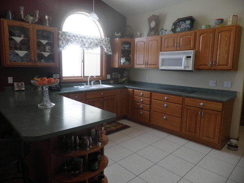 Are Chestnut Brown Granite Countertops Too Dark In A Kitchen??