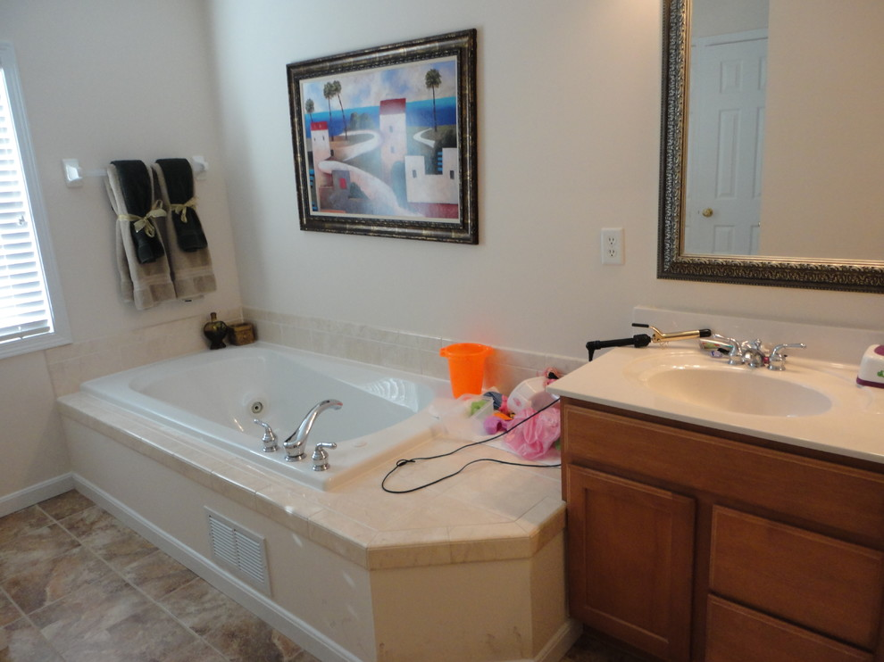 Updated Master Bath on a budget