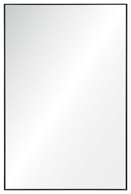 Merveilleux Azura Metal Frame Bathroom Mirror, ...