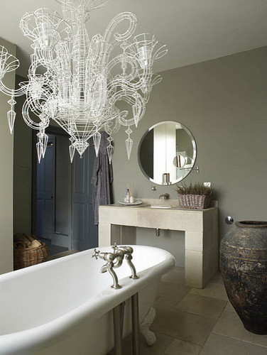 Abigail Ahern's bathroom contemporary bathroom