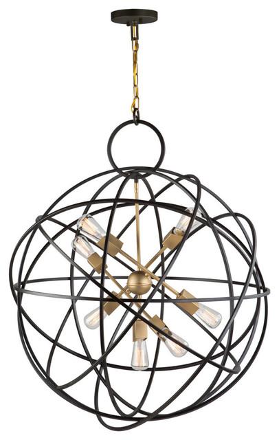 Orbit 7-Light Chandelier