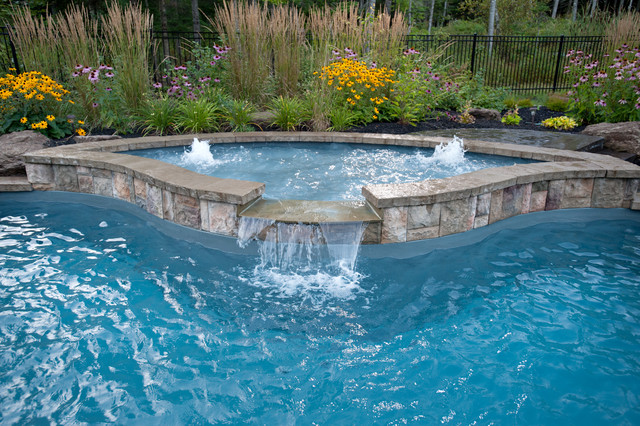 Freeform Fiberglass Pool Rustic Other By Waterworks
