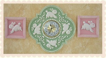 Childrens Nursery Bedding on Children S Clock     Nursery Decor   Boston   By Marie Ricci