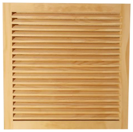 "Wood Return Air Grille, 20""x20"", Standard Square Edge."