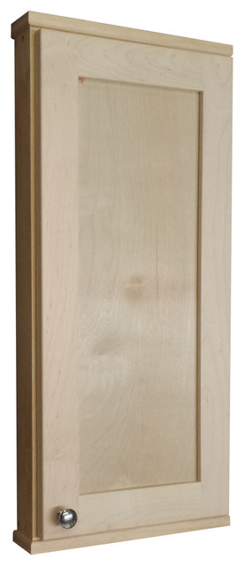 "... Cabinet 2.5"" Deep Inside, Unfinished contemporary-medicine-cabinets"