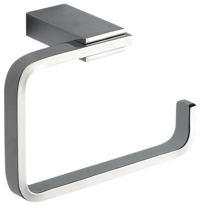 Square Br Toilet Paper Holder Polished Chrome