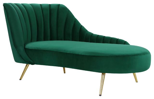 Miraculous Margo Velvet Chaise Green Spiritservingveterans Wood Chair Design Ideas Spiritservingveteransorg