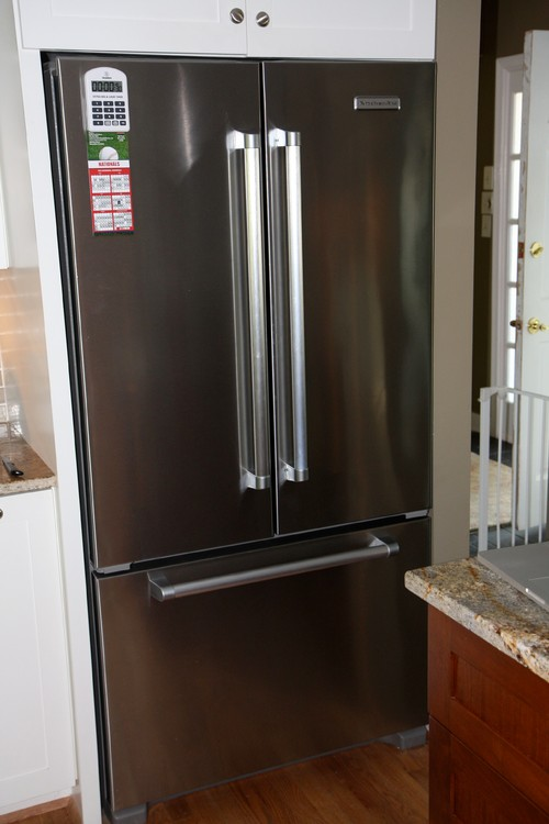 Kitchenaid 23 8 Cu Ft French Door Refrigerator Krfc704fss