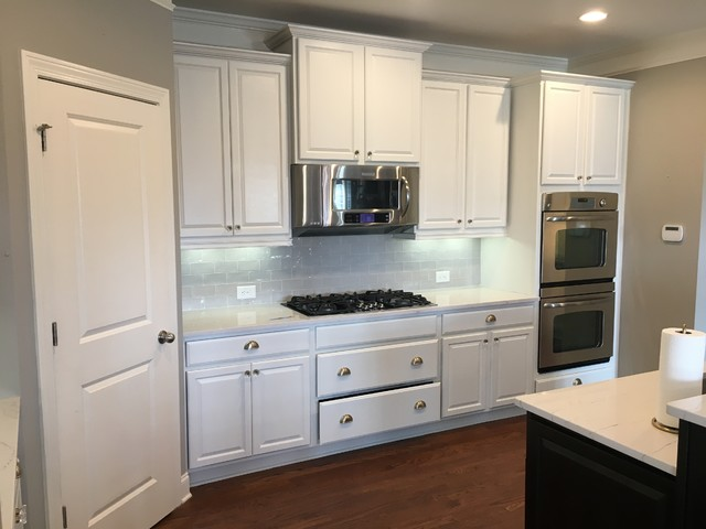 Kitchen cabinets painting for Kitchen cabinet painting atlanta
