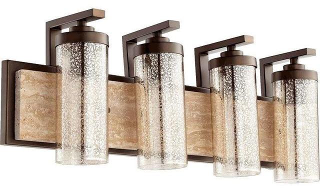 Shop Houzz – Bronze Bathroom Light