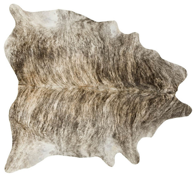Brazilian Cowhide Rug Medium Brindle Buycowhides. Cow Print Rug Kitchen  Design Decorating