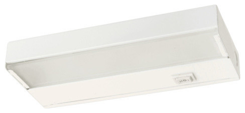 NICOR 21 inch Xenon Undercabinet Light Fixture with White Finish