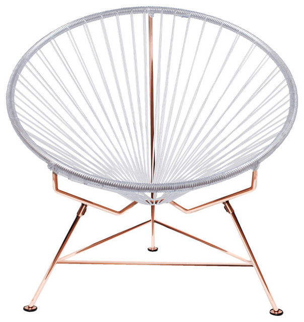 Vinyl Furniture Outdoor: Innit Vinyl Cord Chair With Copper Frame
