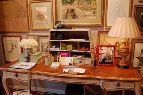 Charlotte Moss Kips Bay Master Suite traditional home office