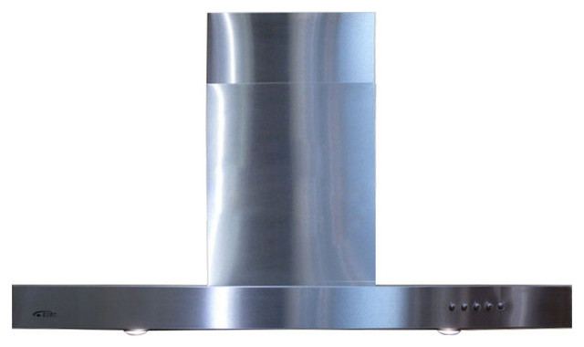 Spagna Vetro Wall Mounted Stainless St Range Hood 30