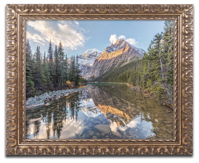 Pierre Leclerc Jasper National Park Ornate Framed Art Traditional Prints And Posters By Trademark Global