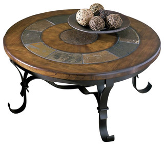 riverside stone forge round coffee table coffee tables by