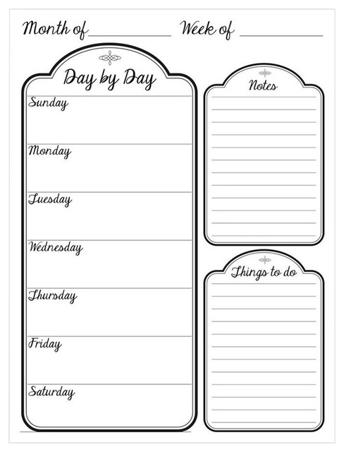 image about Day by Day Planner named R2H Procedures Working day by way of Working day Dry Erase Every day Planner upon ArtPlexi