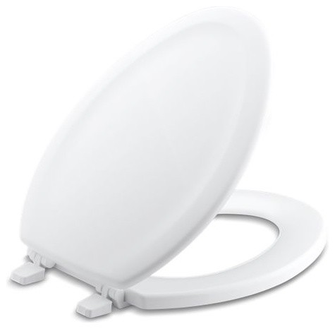 Admirable Kohler Stonewood With Quick Release Hinges Elongated Toilet Seat White Alphanode Cool Chair Designs And Ideas Alphanodeonline