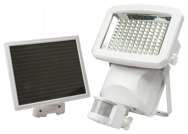 Solar Motion Sensor LED Security Light Lumens Outdoor