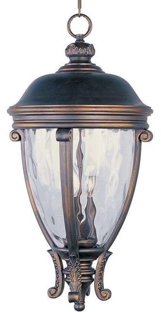 Maxim Lighting 41429wggo Camden Vx Traditional Outdoor Hanging Lantern.